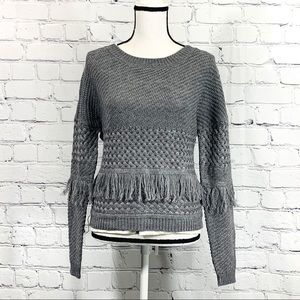 BB Dakota Fringe Sweater